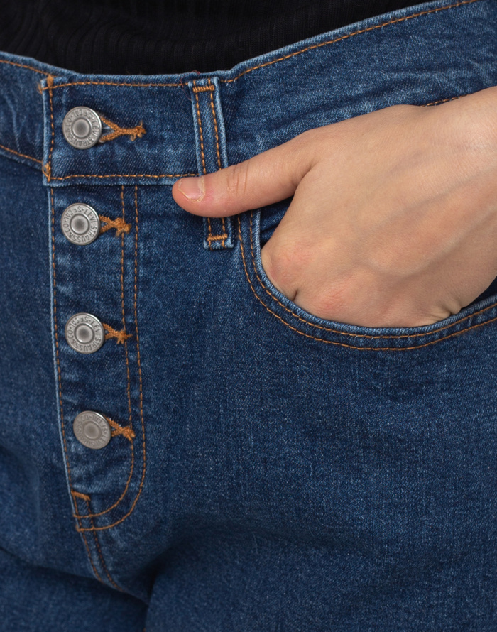Džíny - Levi's® - Exposed Button Mom Jean