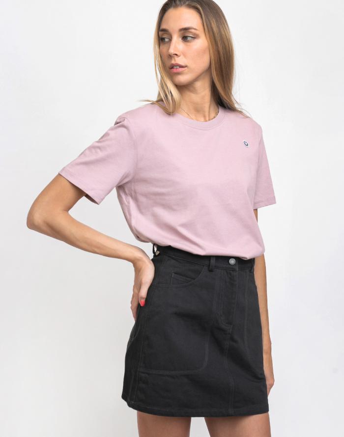 Triko Rotholz Smiley Cropped T-Shirt