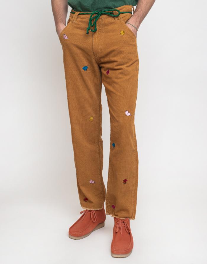 Kalhoty Lazy Oaf Mr Men Cord Pants