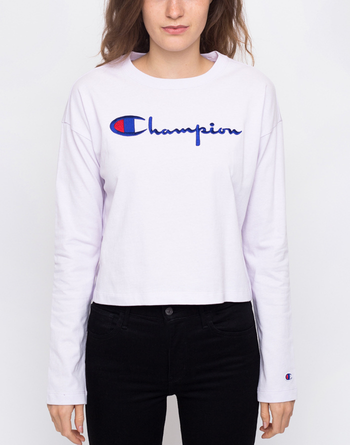 Triko - Champion - Crewneck Croptop