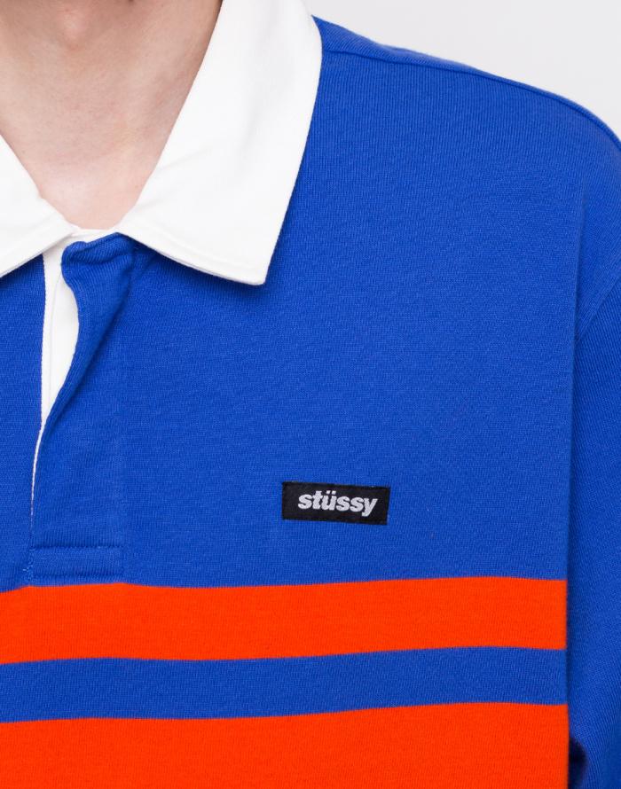Polo triko Stüssy Stanley LS Rugby
