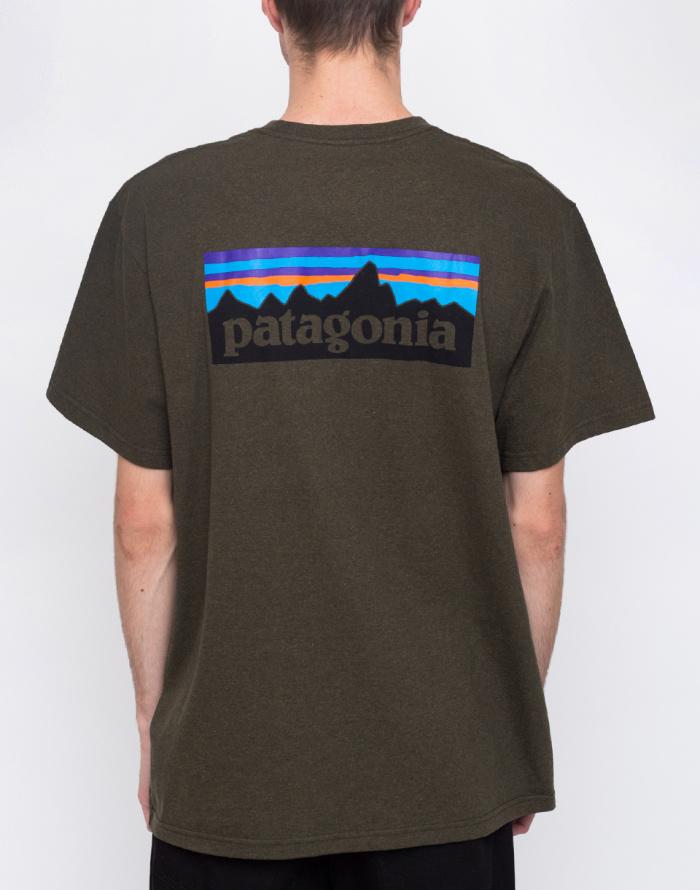 Triko - Patagonia - P-6 Logo Responsibili-Tee