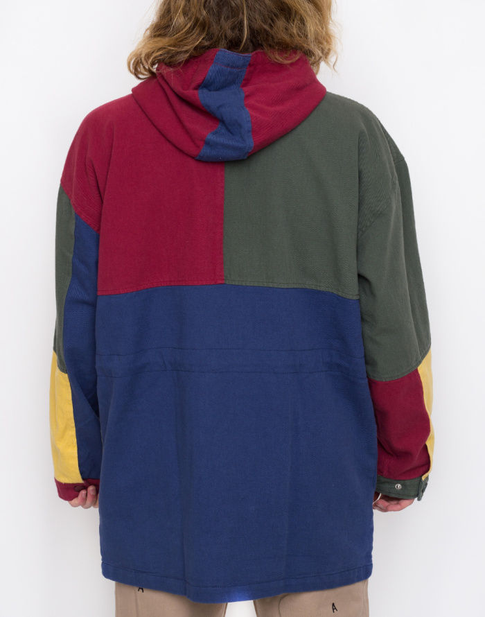 Bunda - Lazy Oaf - Colour Panel Twill Jacket