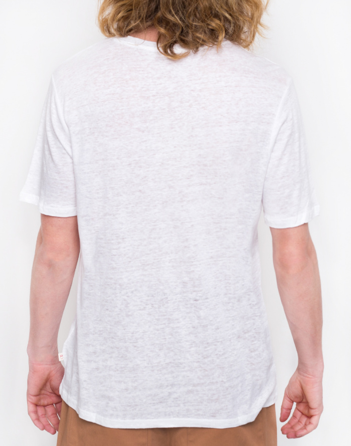 Triko - Knowledge Cotton - Single Jersey Linen T-shirt