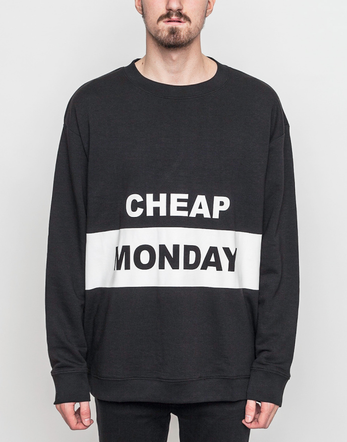 Mikina - Cheap Monday - Victory Block Logo