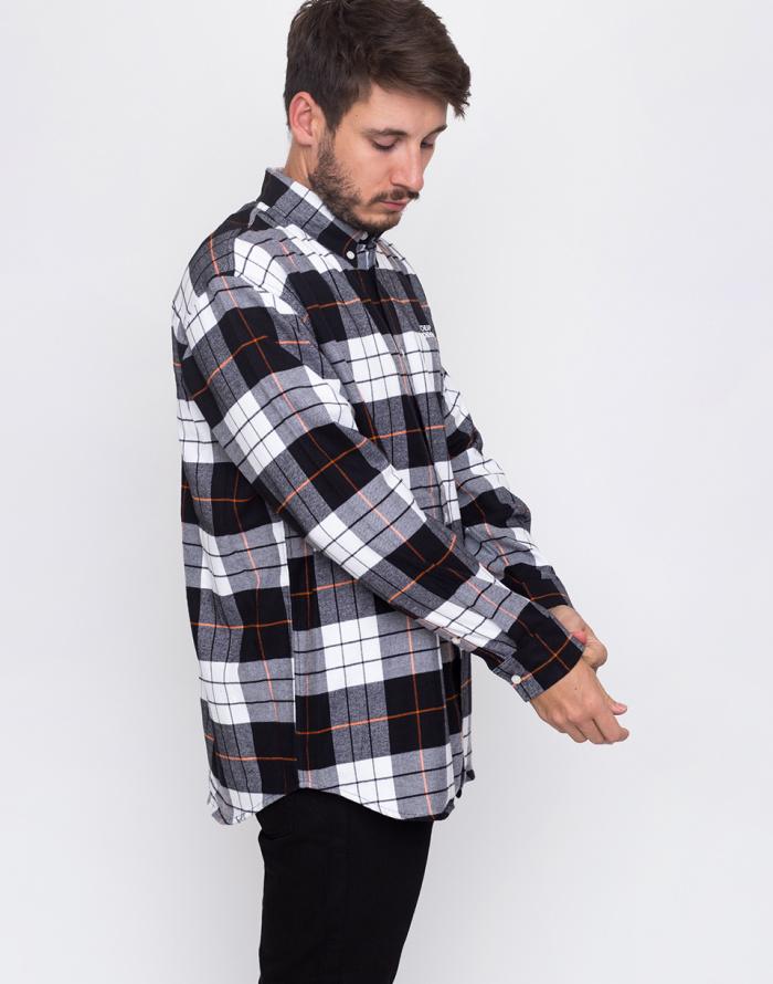 Košile - Cheap Monday - Clean conduct shirt Echologo emb