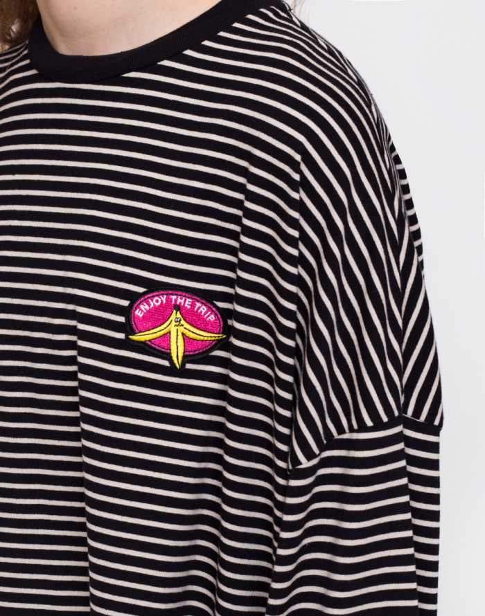 Triko - Lazy Oaf - Enjoy The Trip Long Sleeve Tee