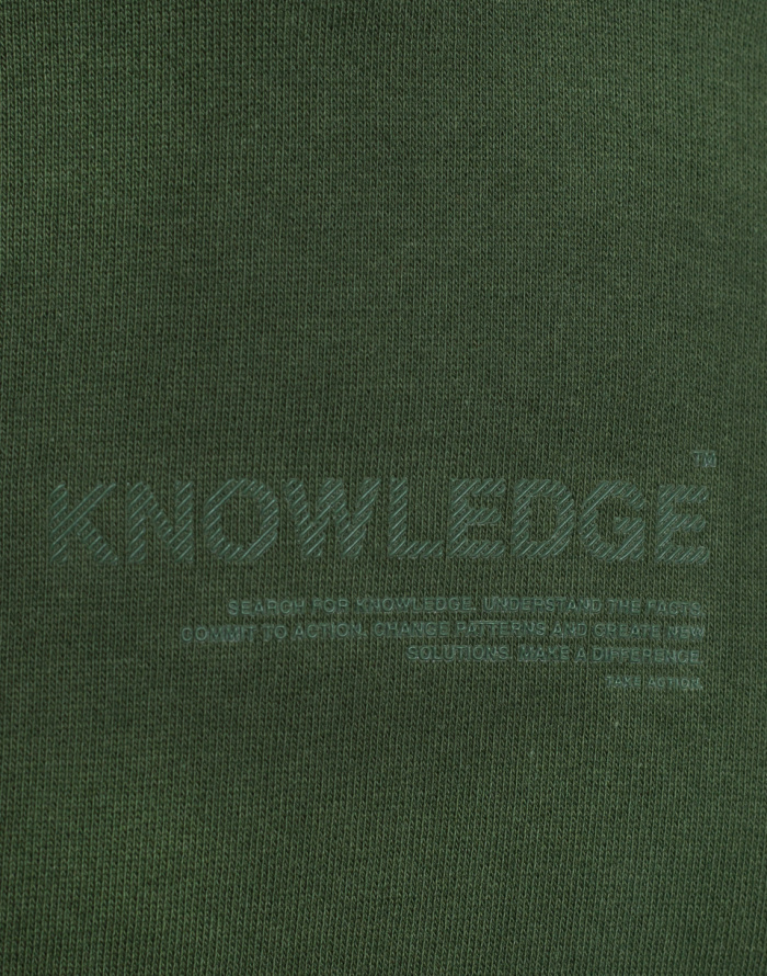 Mikina - Knowledge Cotton - Fleece Hood Sweat