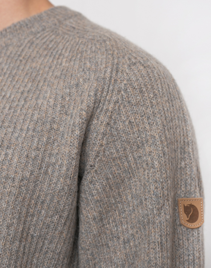 Svetr - Fjällräven - Greenland Re-Wool Crew-Neck