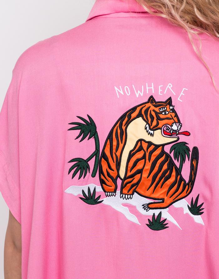Košile - Lazy Oaf - Nowhere Tiger Shirt