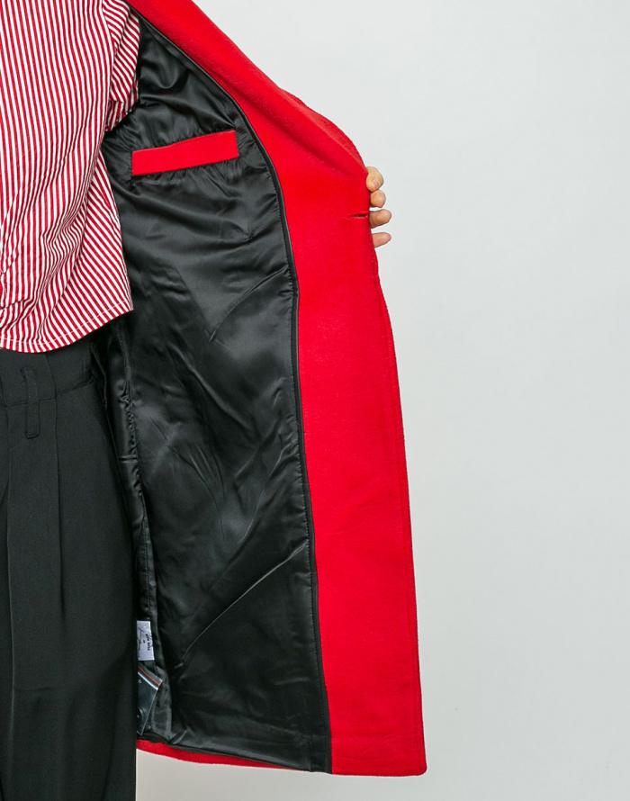 Kabát - Neon Rose - Cocoon Wool