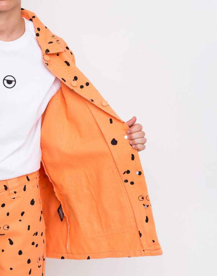 Bunda - Lazy Oaf - Lazy Oaf X Studio Arhoj Glazed Over Work Jacket