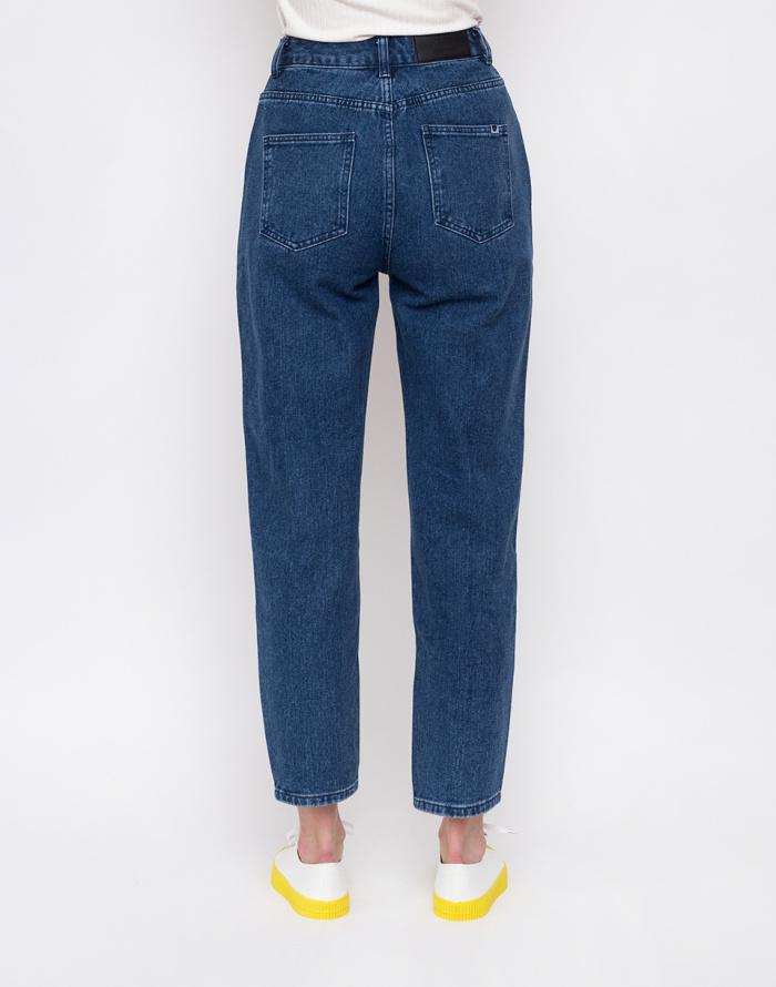 Kalhoty - Lazy Oaf - Mid-Wash Mom Jeans