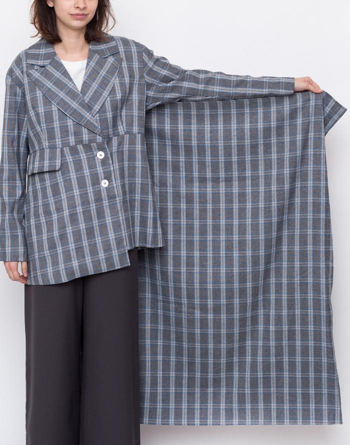 Bunda - House of Sunny - Heritage Scarf Tailored Jacket