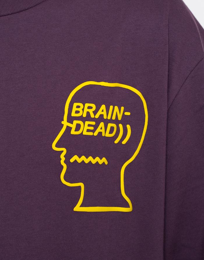 Triko - Converse - Brain Dead Long Sleeve Tee