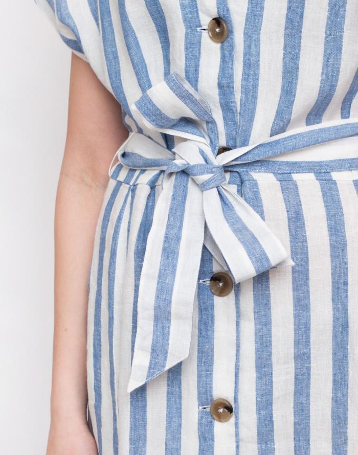 Šaty - Armedangels - Saalika Block Stripe