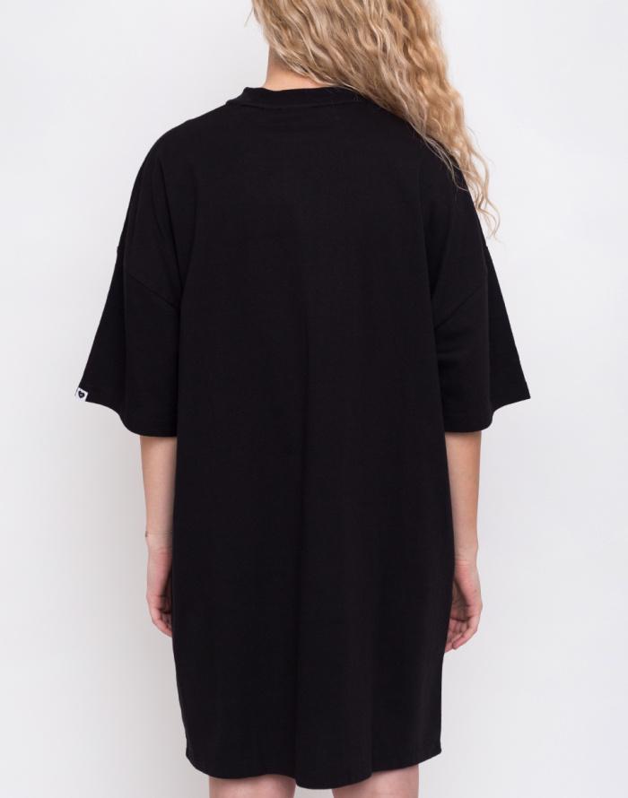 Šaty - Lazy Oaf - Black Midnight Dress