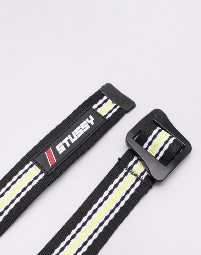 Pásek - Stüssy - Striped Climbing Web Belt