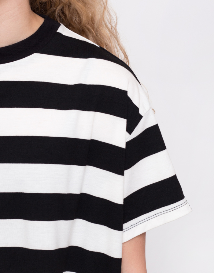 Triko Lazy Oaf Big Stripe Oversized Tee