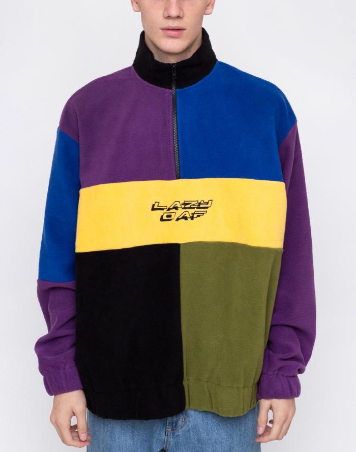 Mikina - Lazy Oaf - Colour Block