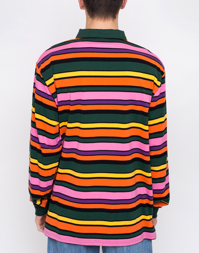 Triko - Lazy Oaf - Stripy Polo