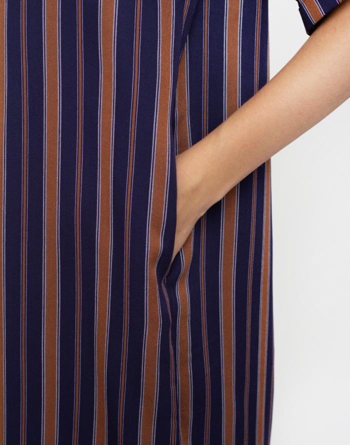 Šaty Armedangels Maarjuli Multicol Stripes