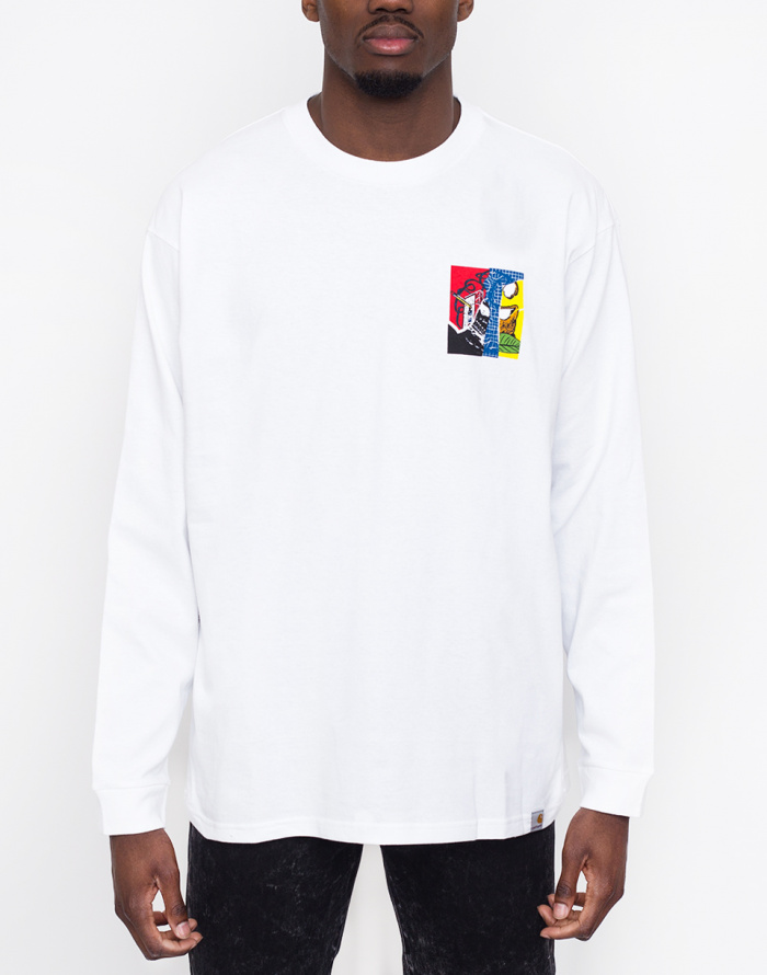 Triko - Carhartt WIP - Patchwork T-Shirt