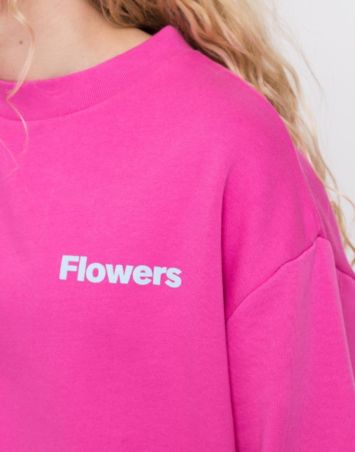 Mikina - Loreak - Flowers Fat Sweat