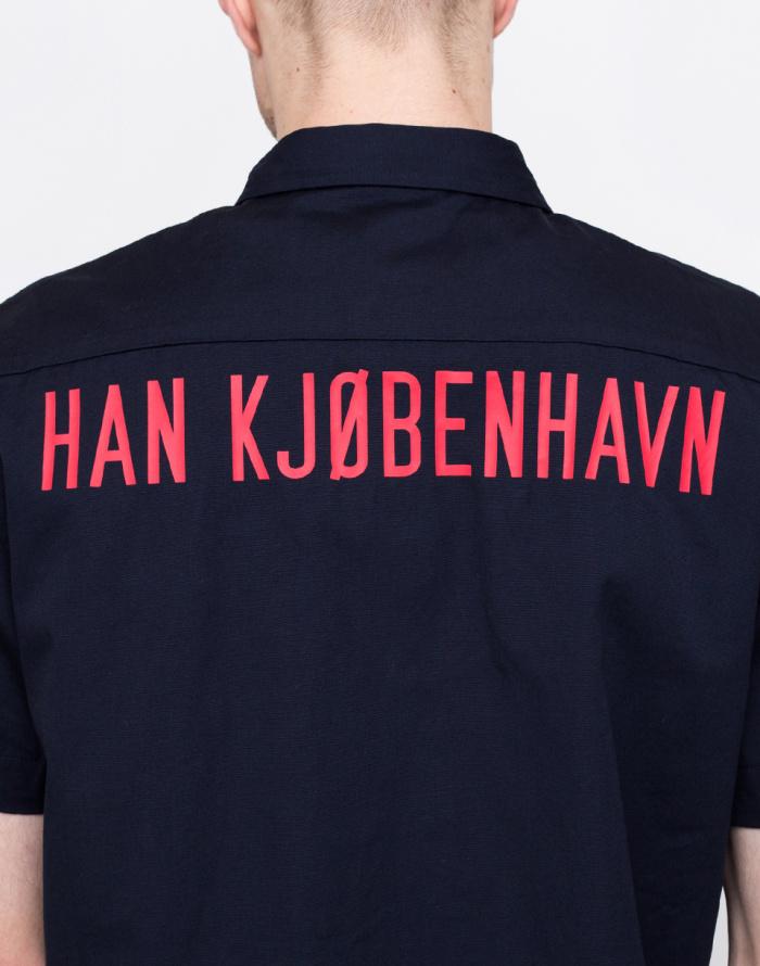 Košile - Han Kjøbenhavn - Mist Shirt