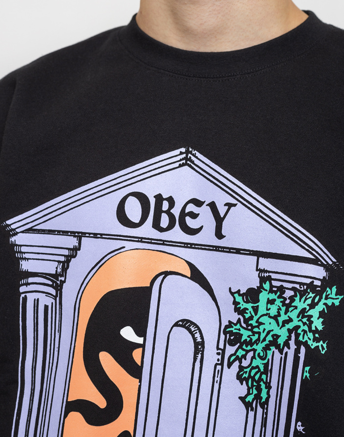 Mikina - Obey - Mausoleum