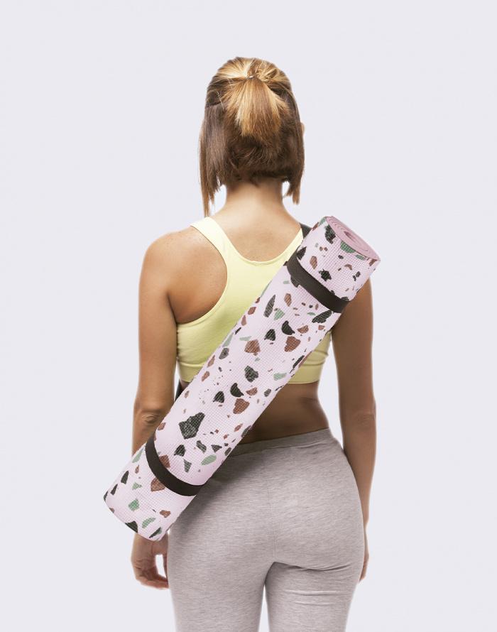 Cestovní gadget - DOIY - Terrazo Yoga Mat