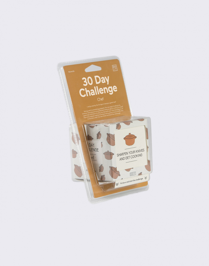Gift DOIY 30 Days Chef Challenge