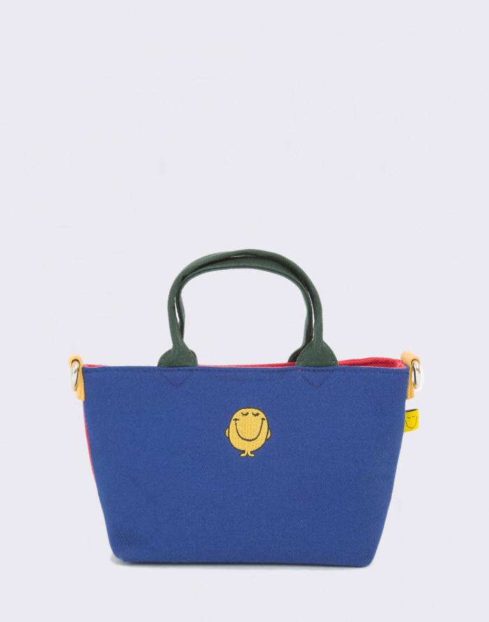 Kabelka Lazy Oaf Mr Happy Colour Panel Bag