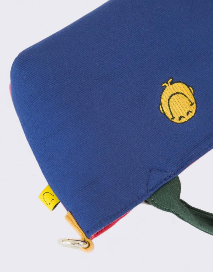 Kabelka - Lazy Oaf - Mr Happy Colour Panel Bag