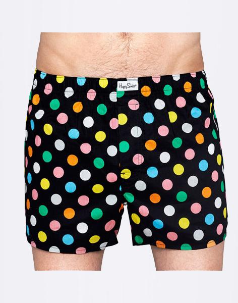 Trenýrky - Happy Socks - Big Dot Boxer