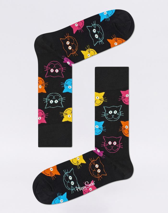 Ponožky - Happy Socks - Cat VS Dog Gift Box