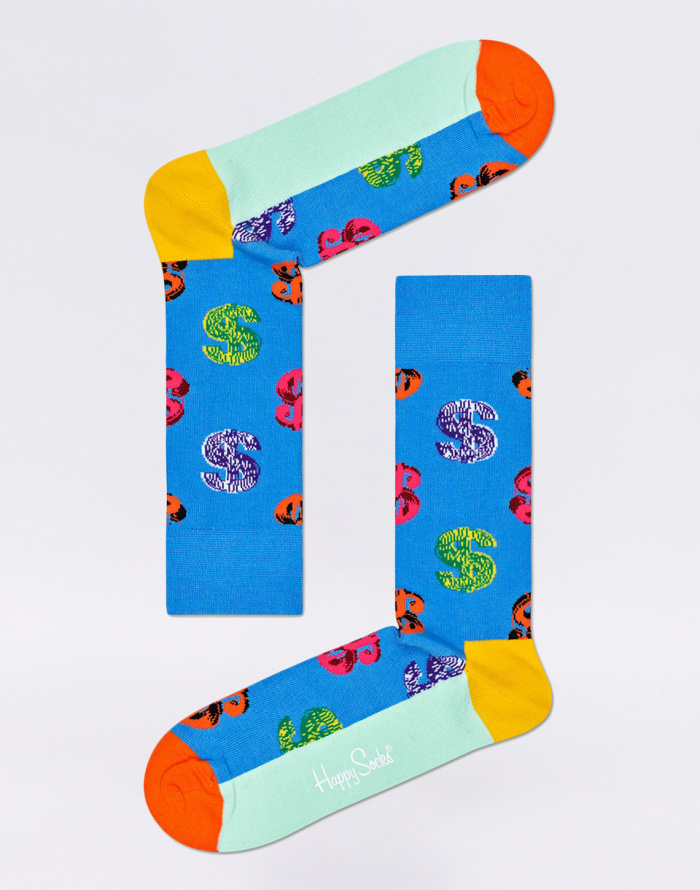 Ponožky Happy Socks Andy Warhol Dollar