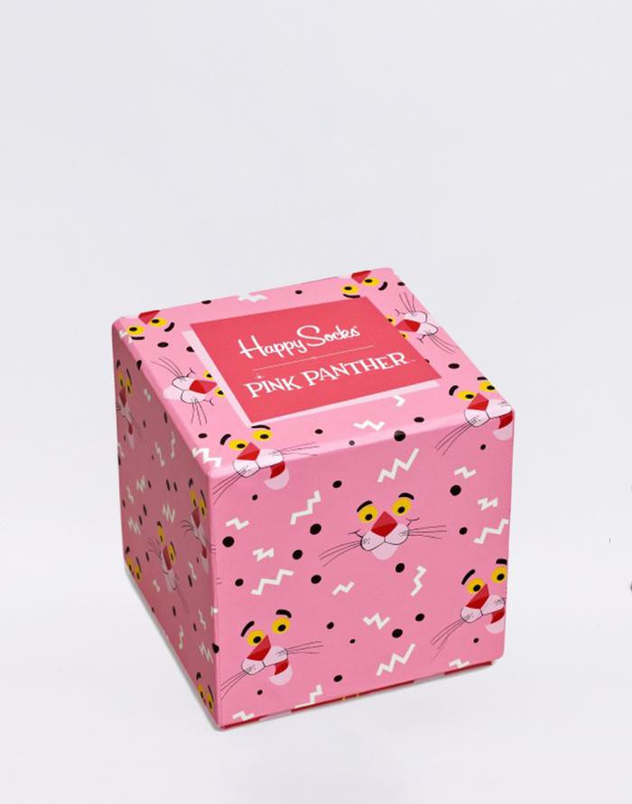 Dárkový set - Happy Socks - 3-Pack Pink Panther Box