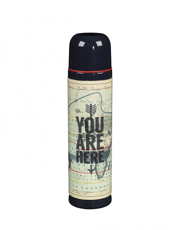 Cestovní gadget - W & W - Flask 500ml