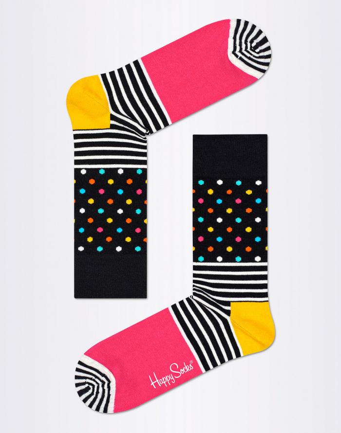Ponožky - Happy Socks - Stripes & Dots