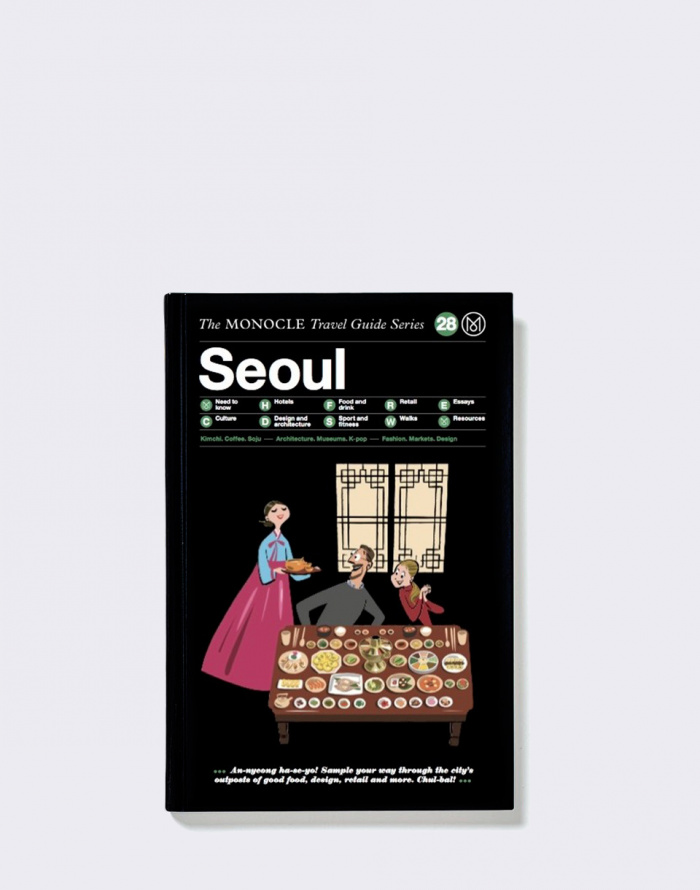 Kniha Gestalten Seoul: The Monocle Travel Guide Series