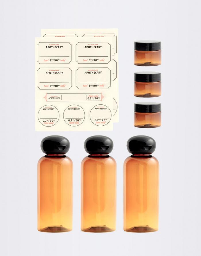 Kosmetika - Kikkerland - Apothecary Travel Set Weekender