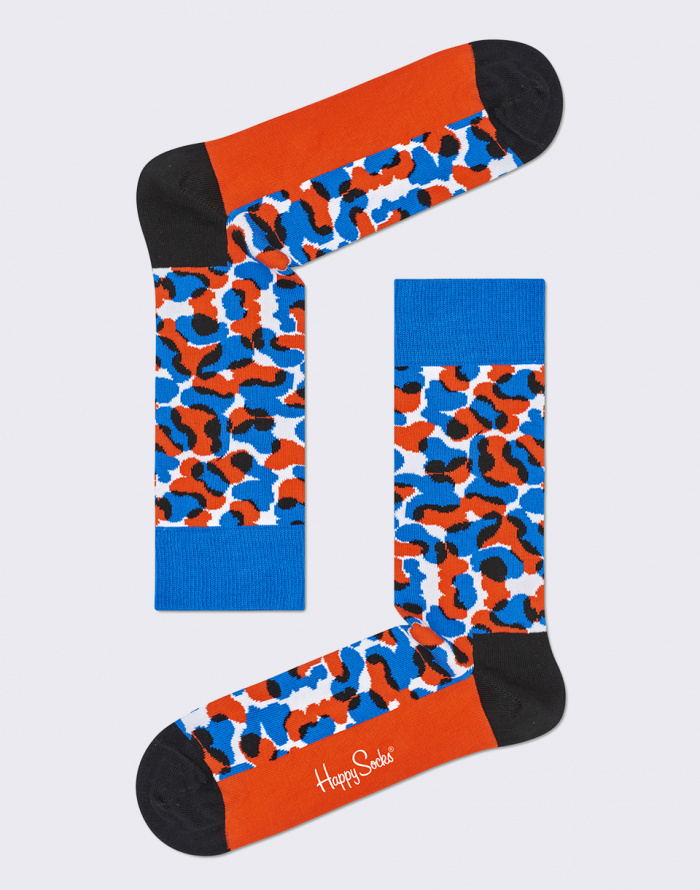 Ponožky - Happy Socks - Wiz Khalifa Black & Blue