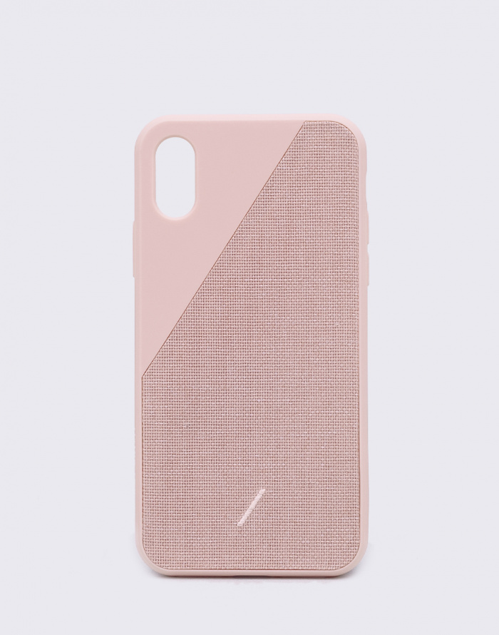 Obal na telefon Native Union Clic Canvas iPhone XS