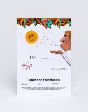 Freshlabels - Elektronický v hodnotě 500 Kč / Eliš...