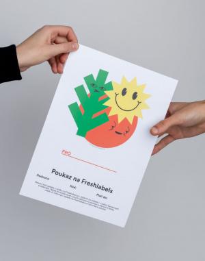 Freshlabels - Elektronický v hodnotě 3000 Kč / Emi...